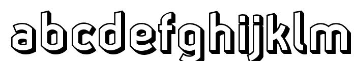 Ganymede3D Font LOWERCASE