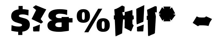 GanzGrobeGotisch-UltraBlack Font OTHER CHARS