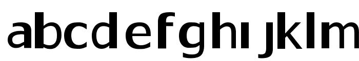 Gaps Font LOWERCASE