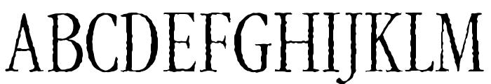 Gar-A-MondTall Antique Font UPPERCASE