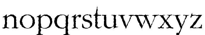 Gar-A-MondTall Antique Font LOWERCASE