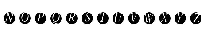 GaraNitials Font UPPERCASE