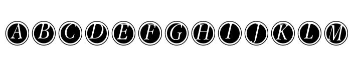 GaraNitialsFramed Font UPPERCASE