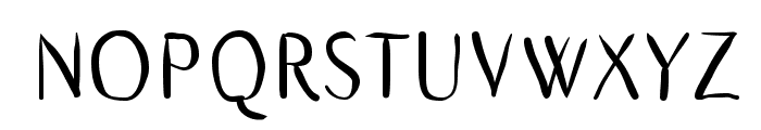 GaraSans Font UPPERCASE