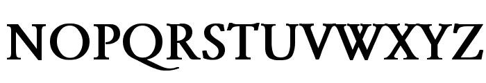 Garamond Bold Font UPPERCASE