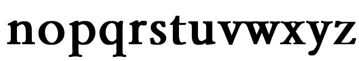 Garamond Bold Font LOWERCASE
