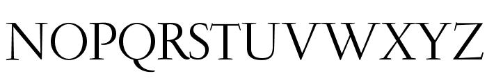 GaramondLudlowOpti-Roman Font UPPERCASE