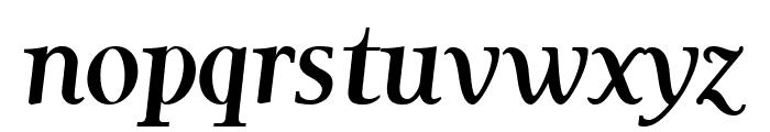 Garava Bold Italic Font LOWERCASE