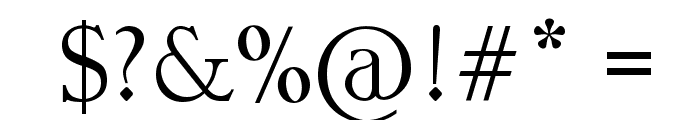 Garava Font OTHER CHARS