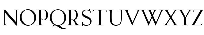 Garava Font UPPERCASE
