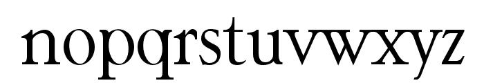 Garava Font LOWERCASE