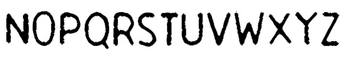 Garbage Guerilla Font UPPERCASE