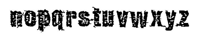 GarbageG Font LOWERCASE
