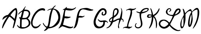 Garden Weasel Font UPPERCASE