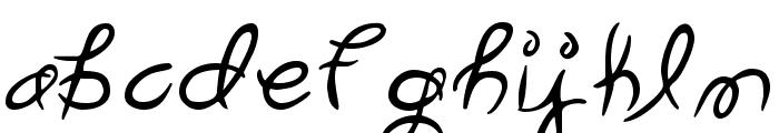 Garden Weasel Font LOWERCASE