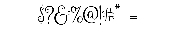 Gardenia Font OTHER CHARS