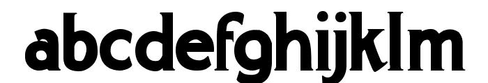 Gargantua Demo Font LOWERCASE