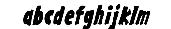 GargleCdRg-BoldItalic Font LOWERCASE