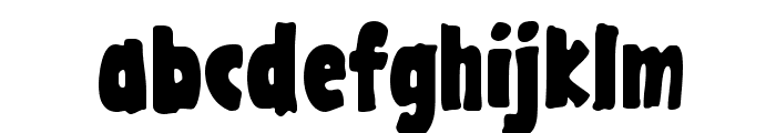 GargleCdRg-Bold Font LOWERCASE