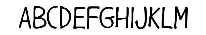 GargleCdRg-Regular Font UPPERCASE