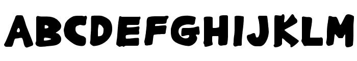 GargleExRg-Bold Font UPPERCASE
