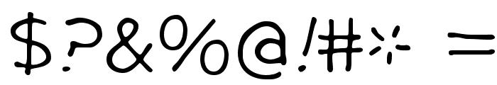 GargleExRg-Regular Font OTHER CHARS