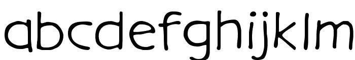 GargleExRg-Regular Font LOWERCASE