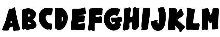 GargleRg-Bold Font UPPERCASE