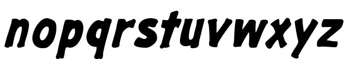 GargleRg-BoldItalic Font LOWERCASE