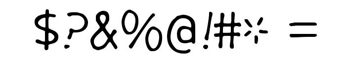 GargleRg-Regular Font OTHER CHARS