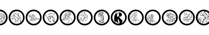 GargoyleRings Font LOWERCASE