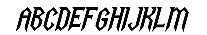 Gargoyles Italic Font UPPERCASE