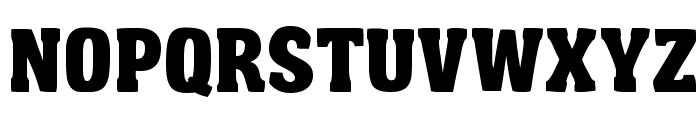 Garishing Worse Font UPPERCASE