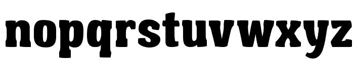 Garishing Worse Font LOWERCASE
