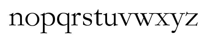 Garogier Regular Font LOWERCASE