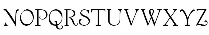 Garton Medium Font UPPERCASE