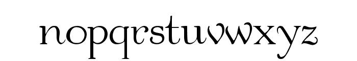Garton Medium Font LOWERCASE