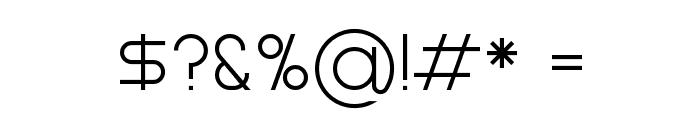Gasalt Regular Font OTHER CHARS