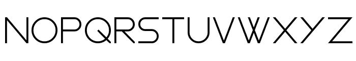 Gasalt Regular Font UPPERCASE