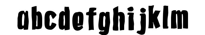 Gasoline Font LOWERCASE