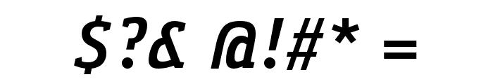 Gaspar-BoldItalic Font OTHER CHARS