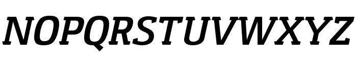 Gaspar-BoldItalic Font UPPERCASE