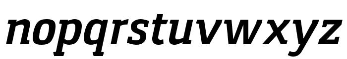 Gaspar-BoldItalic Font LOWERCASE