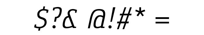 Gaspar-Italic Font OTHER CHARS