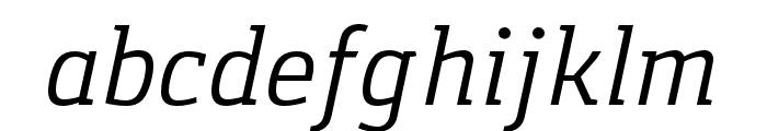 Gaspar-Italic Font LOWERCASE