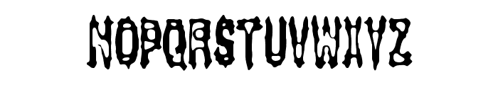 Gasping BRK Font UPPERCASE