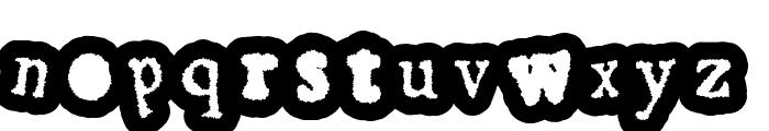 GassyGaut Font LOWERCASE