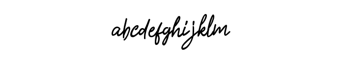 GasteryeBold Font LOWERCASE