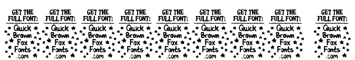 Gastro Intestinal Confl [Demo] Font OTHER CHARS