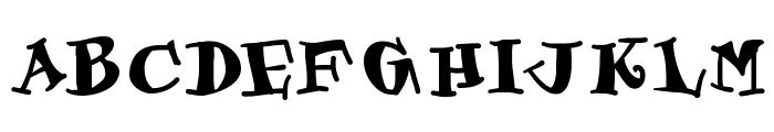 Gastronom Font UPPERCASE